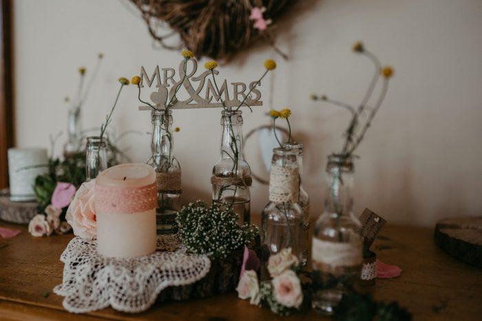 vintage wedding decoration